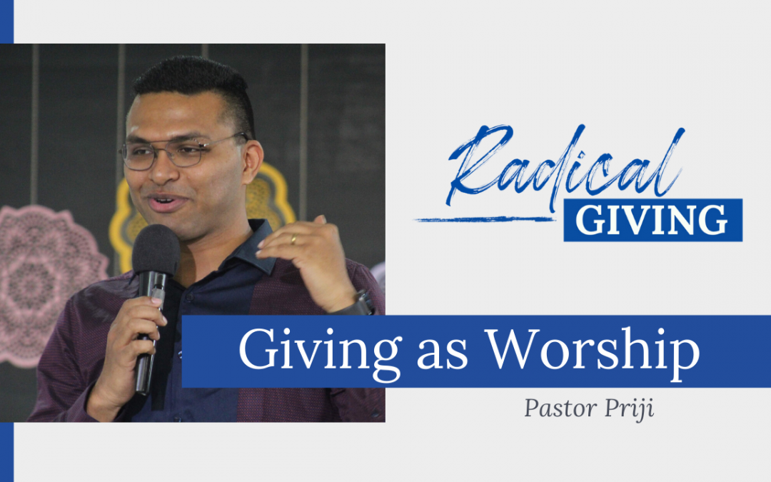 Giving as Worship