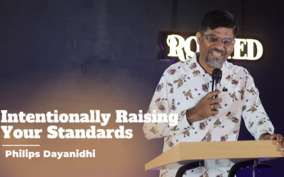 Intentionally Raising Your Standards